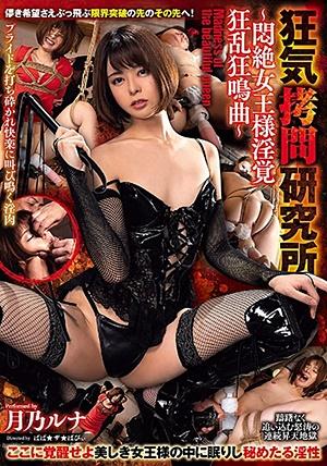GMEM-020 狂気拷問研究所 Madness of the beautiful queen 悶絶女王様淫覚狂乱狂鳴曲 月乃ルナ